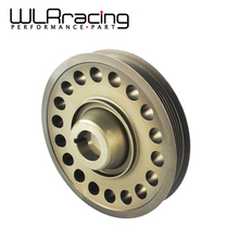 WLRING STORE- Racing Light Weight Aluminum Crankshaft Pulley OEM Size For 93-01 Honda Prelude H22 VTEC WLR-CP012(China)