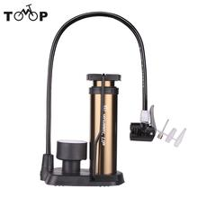 WHEEL UP 160 Psi MTB Air Inflator Pump High Pressure Floor Bicycle Pump With Pressure Gauge Bike Tire Pump Bicicleta