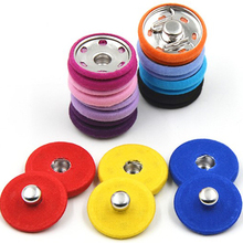 5pcs/lot Multicolour cloth metal popper buttons quality invisible snap button fashion overcoat button trench snaps buckle