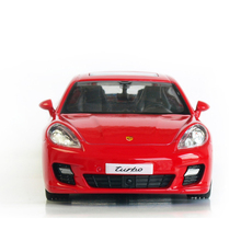 RMZ City 1:32 Alloy Pull Back Porsch Panamera Sports Car Model Of Children's Toy Cars Original Authorized Authentic Kids Toys
