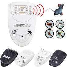 LS4G New Arrival US Plug Electronic Indoor Anti Mosquito Rat Mice Pest Bug Control Repeller Free Shipping(China)