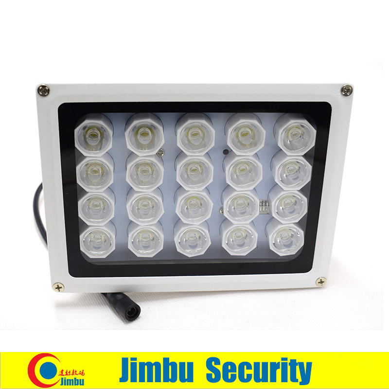 20 LED 12V Night Vision IR sensor white Light lamp LED Auxiliary Lighting For Security CCTV Camera<br>