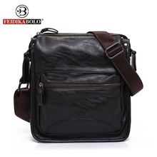 FEIDIKA BOLO Brand Messenger Bag Men Brown Handbags Men Crossbody Bags Luxury Handbags designer Black Sling Shoulder Bag