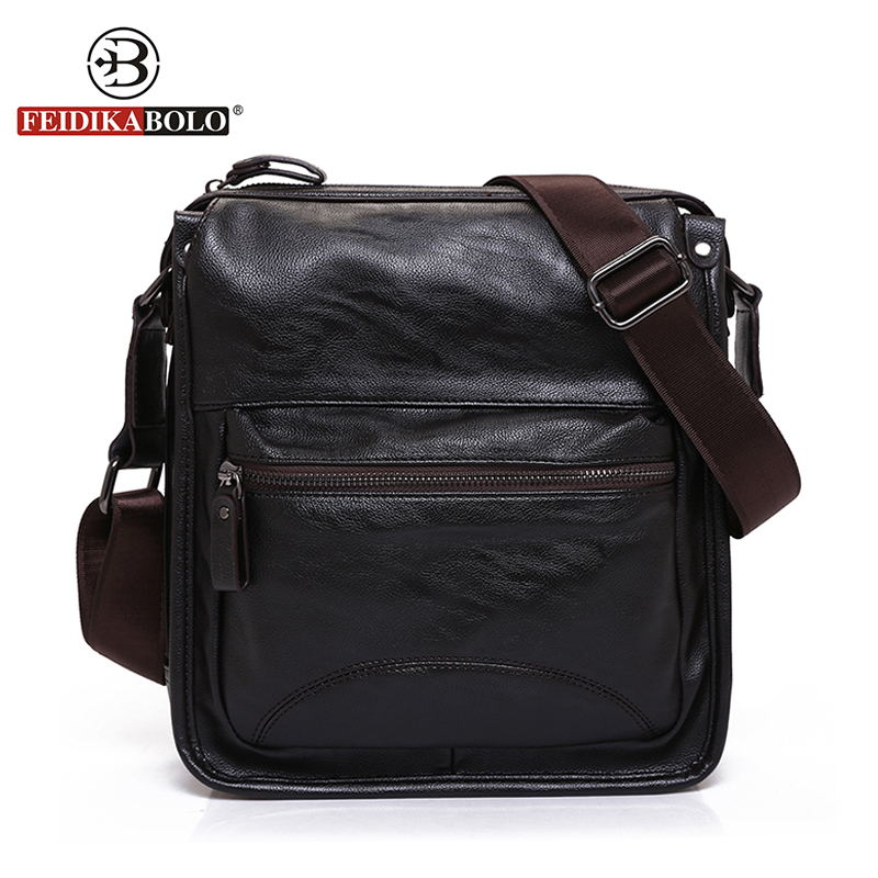 FEIDIKA BOLO Brand Messenger Bag Men Genuine Leather Handbags Men Crossbody Bags Luxury Handbags designer Sling Shoulder Bag<br><br>Aliexpress