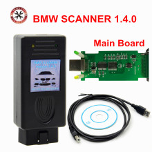 Auto Scanner V1.4.0 for BMW Unlock Version For BMW SCANNER 1.4.0 Determination of Chassis Model Engine Gearbox and Complete Set