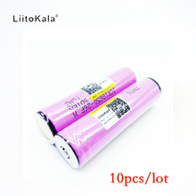 10pcs protected new original Liitokala For Samsung 18650 2600mah battery ICR18650 - 26F M Li lon rechargeable with PCB