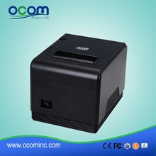 New 80 mm USB or LAN port optional thermal bill printer with best price