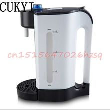CUKYI Electric Air Pots Thermos 3L Water Kettles Big Capacity Mute Dry proof Stainless Steel Heat Preservation Boilers