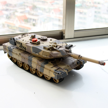 2017 Robot Juguetes 1:24 Large Scale Rc Battle Tank Remote Radio Control Recharge Battery Army Model Millitary Tanks Toy Gift