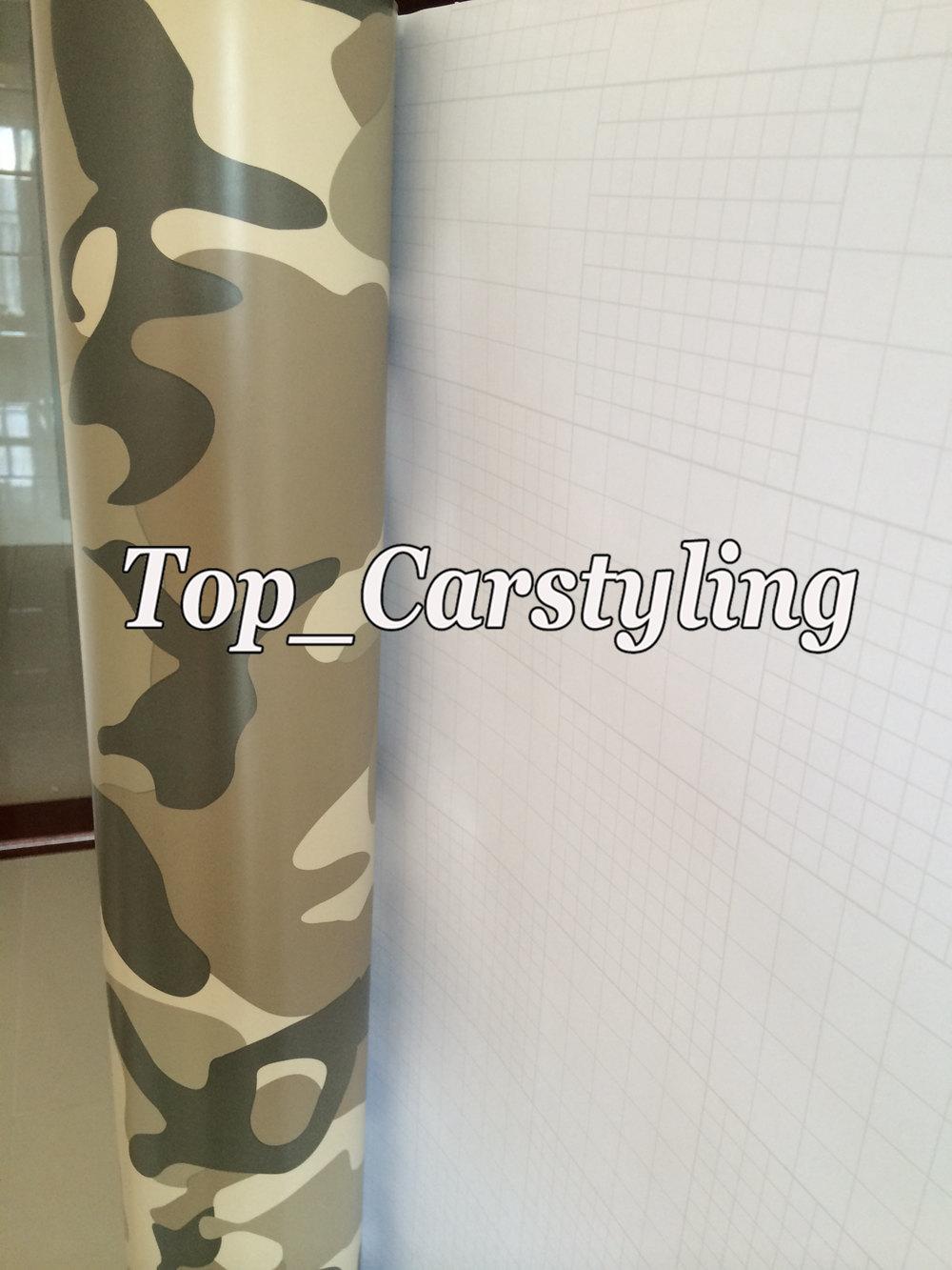 desert sanding camouflage vinyl car wrapping styling (3)