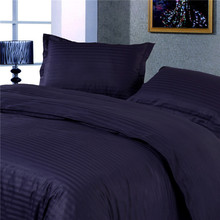 1cm satin Deep blue color 100%Cotton Duvet cover set Minecraft  AUS UK USA Twin Full size ,include Duvet cover and  pillow case