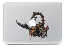 Scorpion robot Vinyl Decal for DIY Macbook Pro 13 15 inch and Air 11 13 inch Decal Skin Laptop Sticker(China)