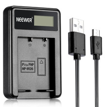 Neewer NW-W126 USB Battery Charger for Fujifilm NP-W126 and Fuji FinePix HS30EXR/HS33EXR/HS50EXR/X-A1/X-E1/X-E2/X-M1/X-Pro1/X-T1
