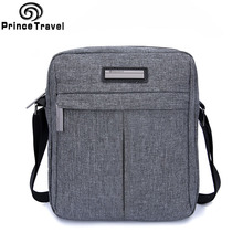 Prince Travel Water Resistant Men Messenger Bags High Quality Oxford Men's Crossbody Bag Designer Handbags Gentle Casual Bag