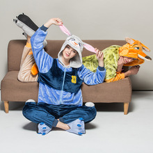 Women Pijamas Hombre Nick Wilde Fox Judy Zootopia Animal Pajamas Onesie For Women Adults Best Sell Chinese Market Online
