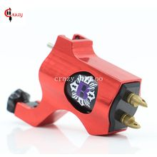 New Rotary Tattoo Machine Bishop Style Red Colors Tattoo Machine For Shader Liner Permanent Fashion Tattoo Gun Free Shipping