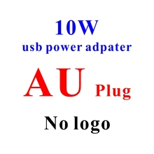 200pcs/lot* 2.1A 10W AU plug AC Wall Charger usb Power Adapter For iPhone, for ipad, for samsung universal phone(China)