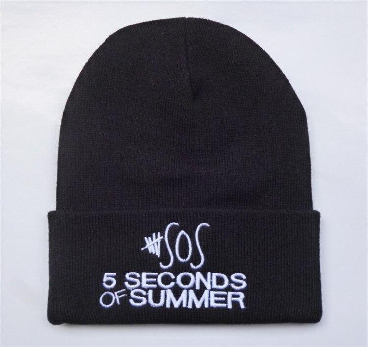 New Brand Winter Hat Women/Men sos 5 seconds of sunmmer Beanie Knitted Warm Touca Wool Caps Hip-hop Skullies Gorro menÎäåæäà è àêñåññóàðû<br><br><br>Aliexpress
