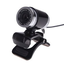 USB 2.0 12 Megapixel HD Camera Web Cam with MIC Clip-on 360 Degree for Desktop Skype Computer PC Laptop Black(China)