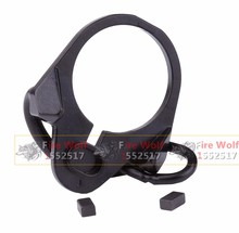 EG Buttstock End Plate Double Loop Hook Sling stock accessories Adapter Mount for AR15 M4 M16 AK