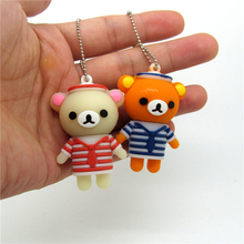 Navy Rilakkuma bear usb flash drive disk memory stick mini cartoon computer gift 4 8g 16gb 32gb pendrive Pen drive personalizado