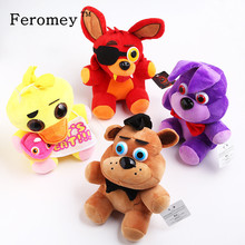 Buy 15/25cm Five Nights Freddy's Plush Doll Toys Freddy Bear Foxy Bonnie Chica FNAF Stuffed Toys Children Kids Gift for $3.04 in AliExpress store