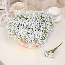 Mini Bride flowers Artificial Flowers Simulation Gypsophila Garden Decoration DIY Ikebana Floriculture Accessories 2C