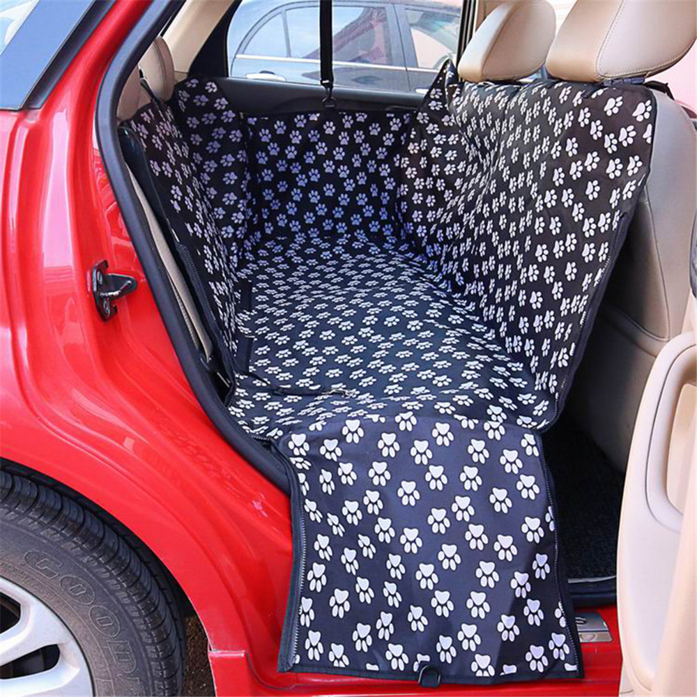 Oxford Waterproof Pet Mat Hammock Cushion Protector Back Seat Carrier