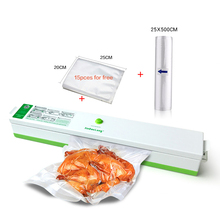 Automatic Electric Vacuum Food Sealer Machine 110V 220V With Vacuum Bags For Food Storage Portable Vacuum Sealer Packer