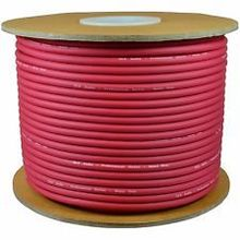 KL High Quality  50M MIC BULK CABLE 24AWG with red color.