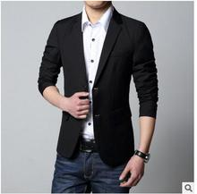 S/5Xl Men Suit Jacket Wholesale Korean Male Plus Size Blazers Casual Spring And Autumn Long Sleeves Single Breasted Blaser J1100