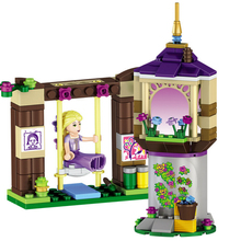 148 Pcs 37000 Rapunzel's Best Day Ever Building Bricks Princess Building Block Girl Compatible with Blocks Princess Toys