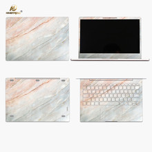 Mimiatrend Hot Coral Marble Grain Full Body Cover Laptop Stickers for for Xiaomi Air 12 13 12.5 13.3 Inch Protective Skin(China)