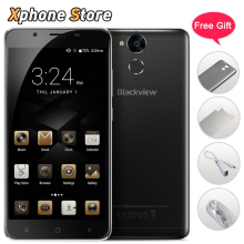 Original Blackview P2 Lite 4G Mobile Phone Android 7.0 32GB ROM 3GB RAM Octa Core 1080P 13MP Camera Dual SIM 5.5 inch Cell Phone(China)