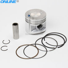 Original LF lifan 140cc oil Cooled Engine Piston and piston ring Set Pit Dirt Bike Engine Spare Parts KLX SDG SSR CRF Apollo(China)