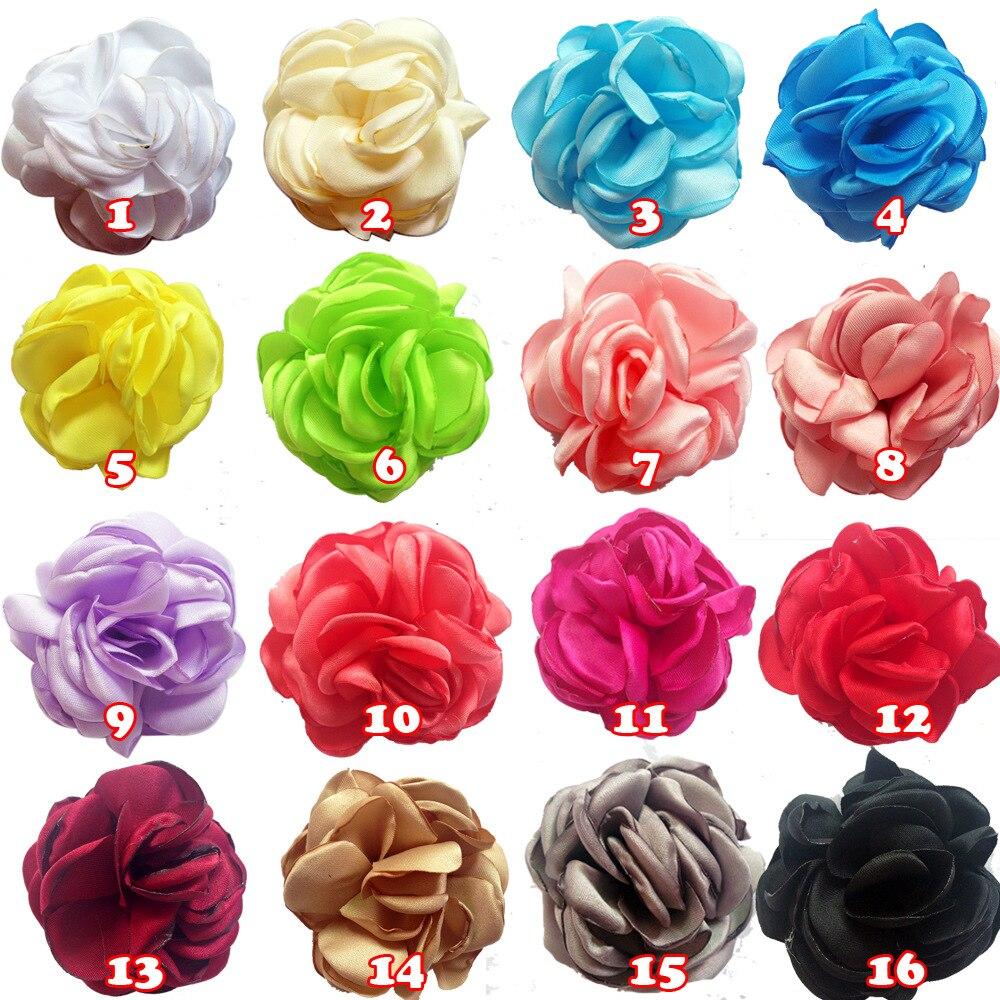 30pcs/lot 2 Burned Satin Flower Shabby Flowers Headbands Handmade Singed Flowers For Baby Girls Wedding Dress Hair Accessories<br><br>Aliexpress