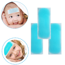 5boxes/20pcs Fast working first aid for baby and adults ice cool gel patch fever pain relief pad