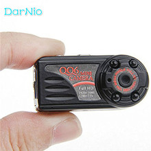 Spied Mini Camera HD 1080P 720P Arrival Smallest Full HD Camera Camcorder IR Night Vision Motion Detect DVR QQ6 DV Freeshipping