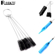 Runbazef Manufacturers Introduce New 5pcs Nylon Brush Cleaning Electronic Cigarette Tubes Straw Bottles Keyboard