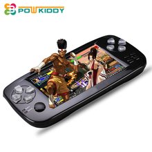 2017 New 4.3 Inch HD Video Game Console 32 Bit Portable Handheld Game Players For GBC/SFC/CP1/NEO/GEO Format 600+ Inner game(China)