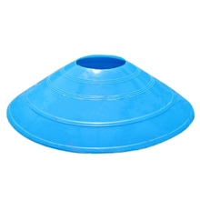 2017 new arrival 10pcs/lot 20cm Cones Marker Discs Soccer Football Training Sports Saucer Entertainment Sports Accessories(China)