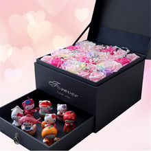 SUNNY LAKE Eternal angels, perfumed flowers, gift boxes, D551, cartoon bouquets, Valentine's day, Christmas gifts, gifts(China)