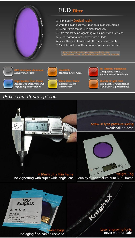KnightX 52mm 58MM 67MM Graduated Color ND CPL UV Lens Filter Kit for Nikon canon D5100 D3300 D5300 D50 D3100 D30 SLR Camera 2