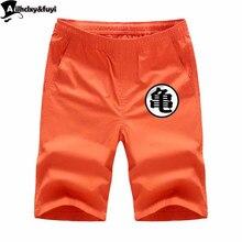 2f1af3ca9e Anime dos desenhos animados Hot Summer Shorts Homens Moda de Alta Qualidade  Curta Inferior Masculino Respirável Cores Sólidas Ca.