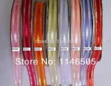 3/8'' 50Y colored ribbon stripe high-end clothing Garment Hair accessories Velvet Ribbon/Metallic velvet Ribbon decoration with