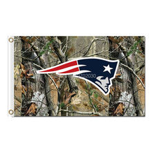 New England Patriots Flag Jungle camouflage Football Team 3ft X 5ft World Series Super Bowl Champions Custom Patriots Banner(China)