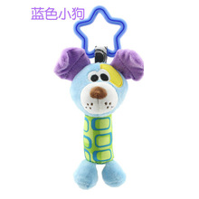 happy monkey 18.5cm 6 Styles Babys doll Rattl Plush Toy Cheerful Rocking wind chimes Sticks Sound Soft Gentle Cute Animals plush