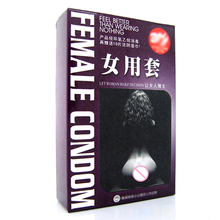 3sets Female Condom Ultra Thin Condoms Female Contraception Adult Sex Products for Horny Men Women Couple