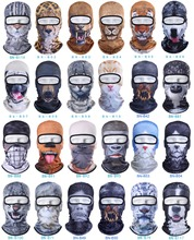 3D Cat Dog Animal Balaclava Bicycle Bike Hats Snowboard Tiger Party Halloween Helmet Liner Winter Warmer Pet Full Face Mask(China)