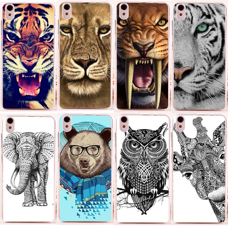 cheap painted Cute animals case Lenovo S850 S 850T patterns DIY Colored Cover Lenovo S850 Case stock